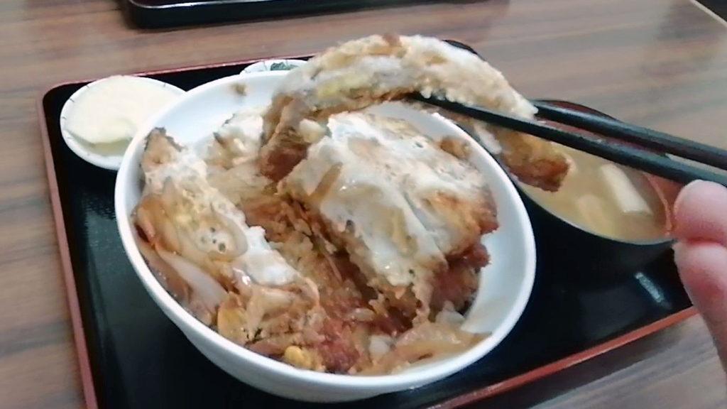 松本駅前 お食事処高橋 ソースかつ丼