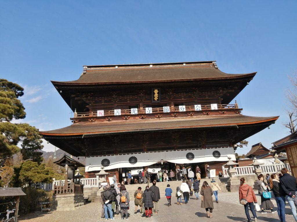 長野観光スポット 善光寺