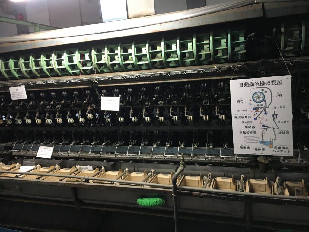 世界遺産 富岡製糸場 繰糸機